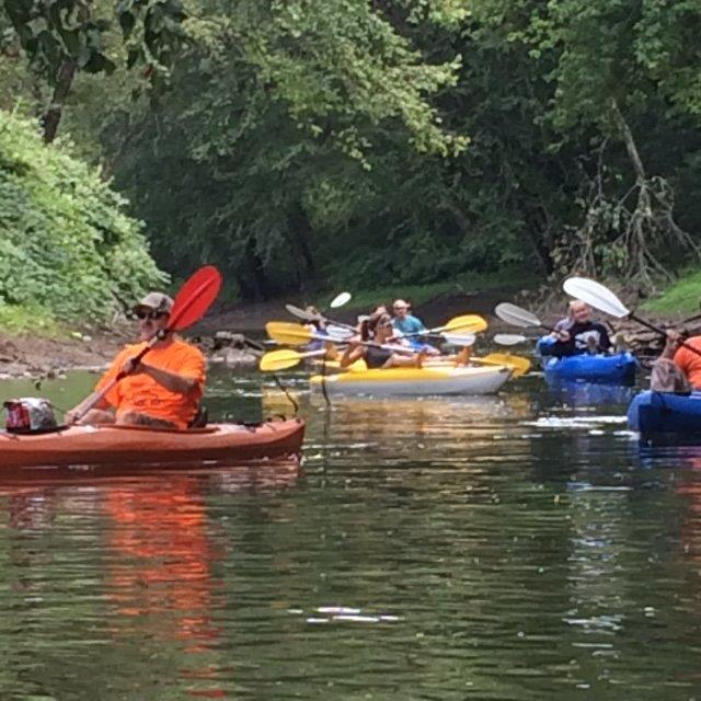 Large group kayak rentals