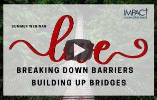 Breaking down barriers Building up bridg