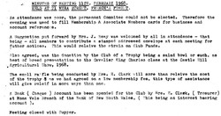 Meeting Minutes March 1968