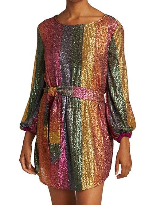 Farm Rio Sequin Mini Dress