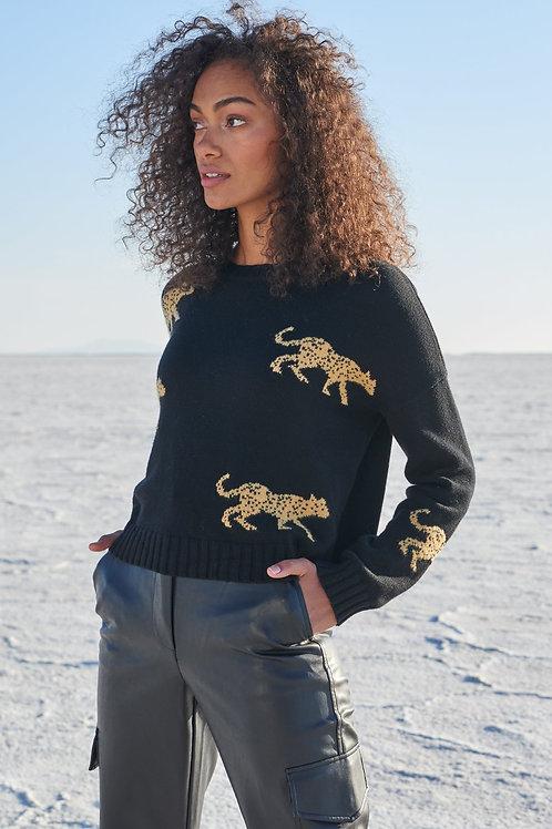 Rails Perci Black Jungle Sweater
