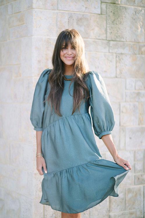 Just Female Mae Tiered Dress