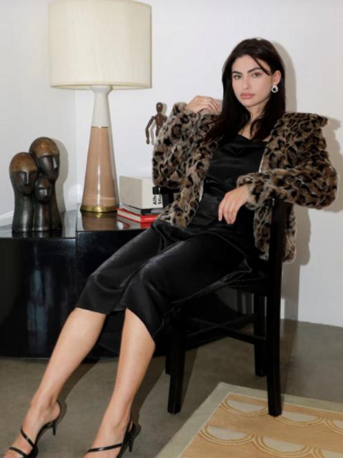 Greylin Kina Faux Fur Jacket