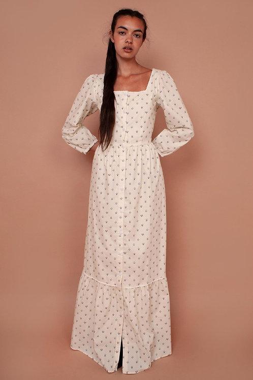 Meadows Ixora Long Sleeve Square Neck Dress