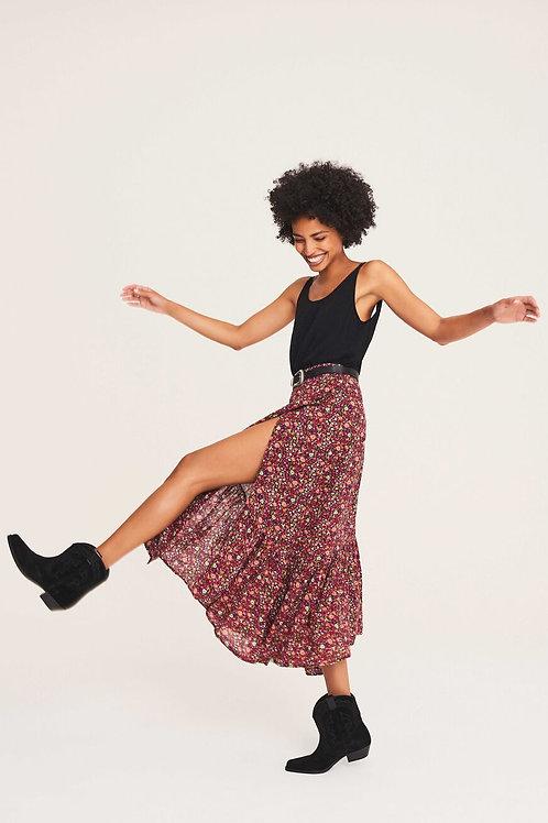 Ba&sh Floral Skirt