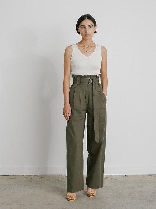 Ganni Ripstop Cotton Pants