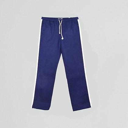 Pantalon sergé de coton stripe