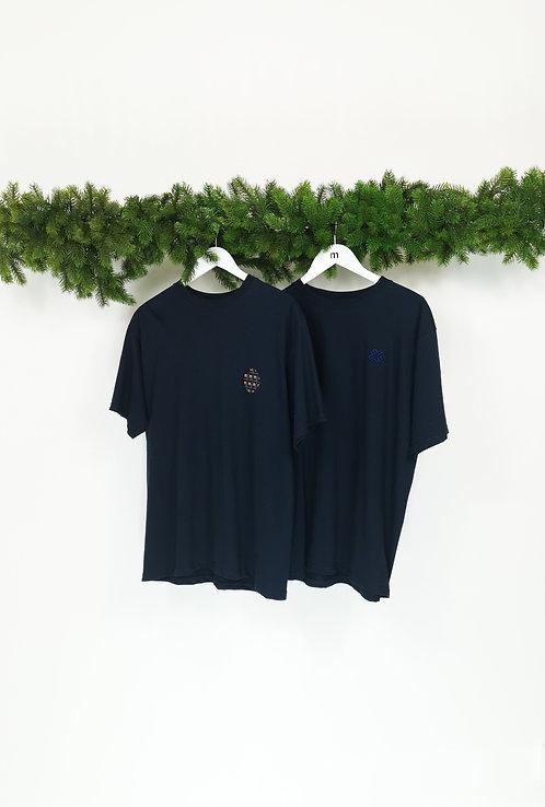 Pack 2 T-shirts bleu
