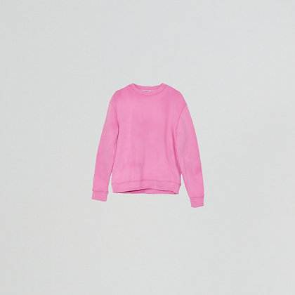 "Sweatshirt ""m"" bleach pink"