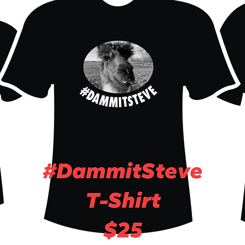 T-shirt Dammit Steve