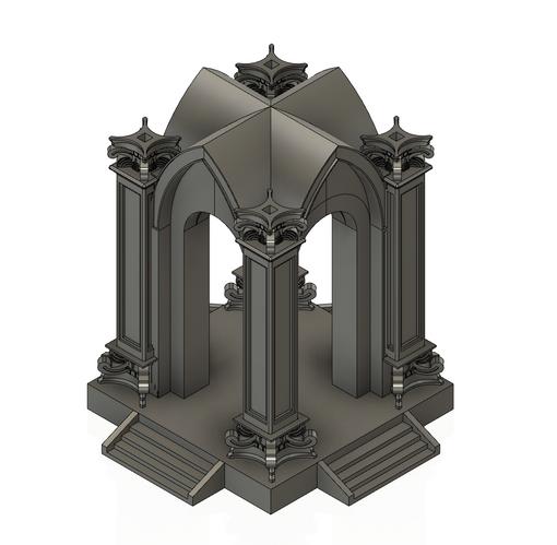 Concrete Chapel Stand