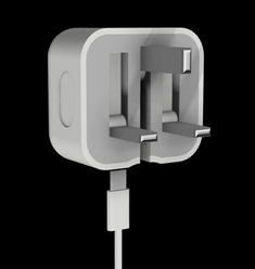 USB-C Charger Render