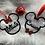 Thumbnail: Personalised Mickey & Minnie Ornaments