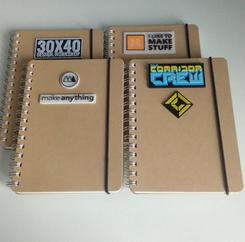 3D Printed Notebook