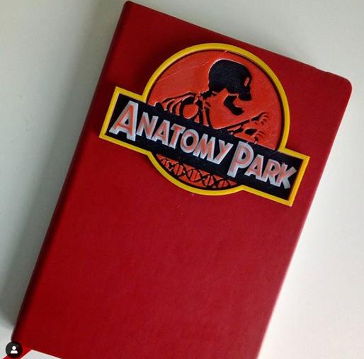 Anatomy Park Notebook
