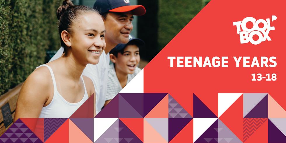 Toolbox for Teenage Years (11-18) Oct'21 Intake
