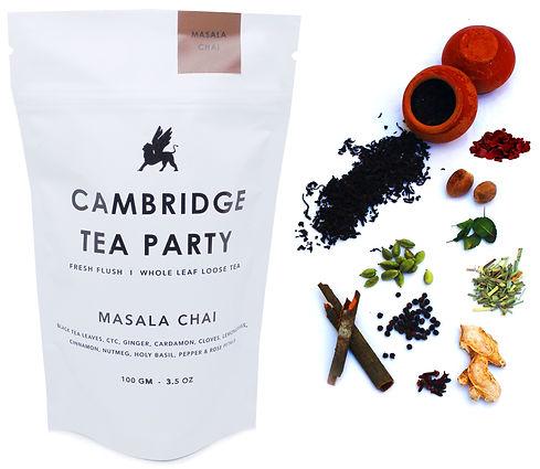 Cambridge Tea Party 8 Spices Masala Chai
