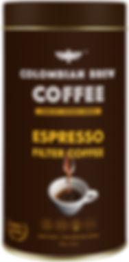 Colombian Brew Coffee Esspresso Filter Coffee 250g_Front.jpeg