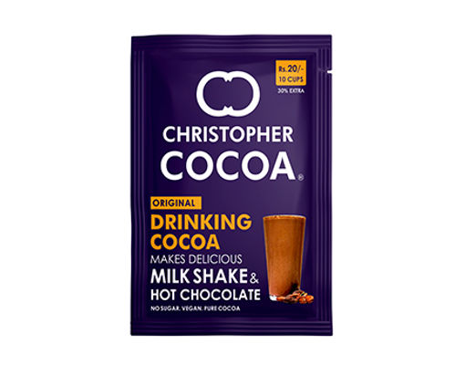 Christopher Cocoa Drinking Cocoa Powder