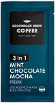 Colombian Brew Coffee 3 in 1 Premix mint chocolate mocha