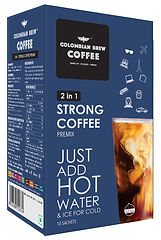 Colombian Brew Coffee 2 in 1 Premix