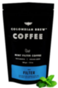 Colombian Brew Mint Ground Filter Coffee