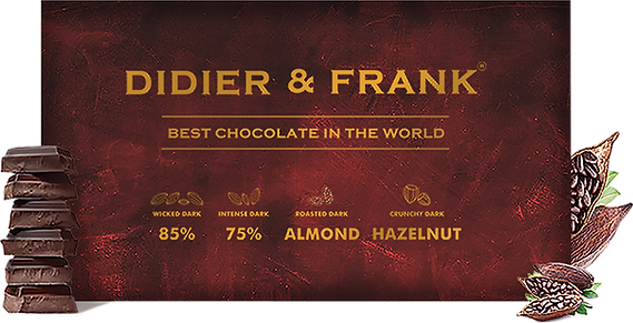 Didier and Frank Assorted Dark Chocolate Gift Box