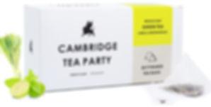 Cambridge Tea Party Green Tea Lime Lemongrass Pyramid Tea Bags