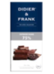 Didier and Frank Chocolate INTENSE DARK 75_FRONT_100G.jpg