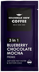 Colombian Brew Coffee 3 in 1 Premix blueberry chocolate mocha