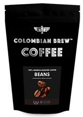 Colombian Brew Coffee Roasted Coffee Beans 100_ Arabica - 150G