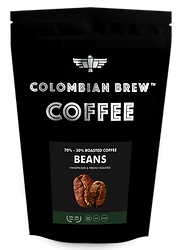 Colombian Brew Coffee Roasted Coffee Beans 70_ Arabica-30_ Rob