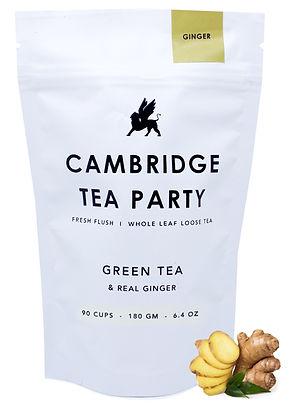 Cambridge Tea Party Ginger Green Tea