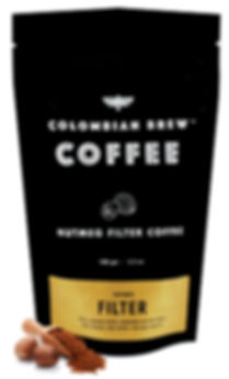 Colombian Brew Nutmeg Ground Filter Coffee
