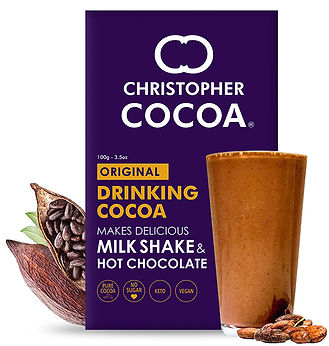 Chistopher Cocoa Drinking Cocoa Powder