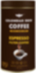 Colombian Brew Coffee Espresso Filter Coffee 250g_Front.jpeg