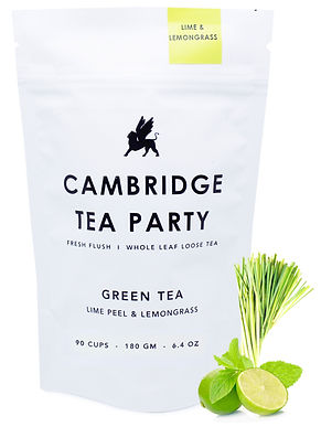 Cambridge Tea Party Lime Lemongrass Green Tea