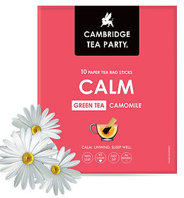 Cambridge Tea Party Green Tea CALM Camomile Tea Bags