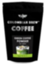 Colombian Brew Coffee GREEN COFFEE POWDER_200G_FRONT.jpg