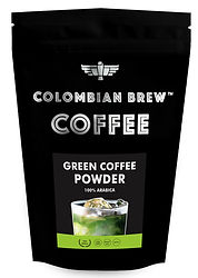 Colombian Brew Coffee GREEN COFFEE POWDER_200G_FRONT.jpg