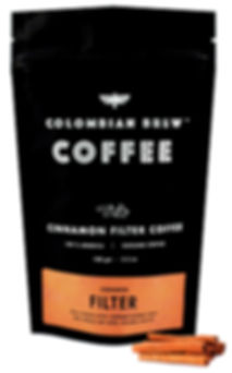 Colombian Brew Cinnamon Ground Filter Coffee