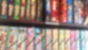 中目黒ボードゲームカフェのボードゲームの棚