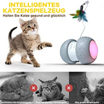 Pelota interactiva gatos