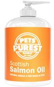 Pets Purest Aceite de salmón escocés puro.100% Natural