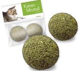 bolas hierba gatera gatos