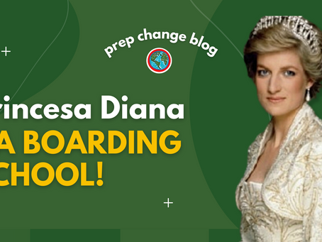 Princesa Diana na Boarding School