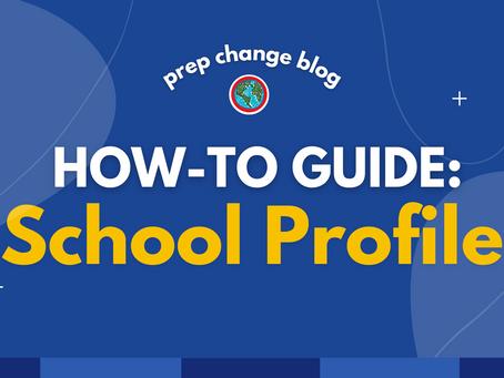 Como Fazer um School Profile