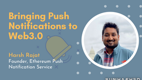 Push Notifications Will Pull Blockchain Out of the Stone Age of Communication - Unhashed #1