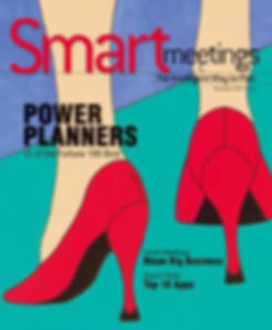 _Legs_ on the cover of Smart Meetings ma