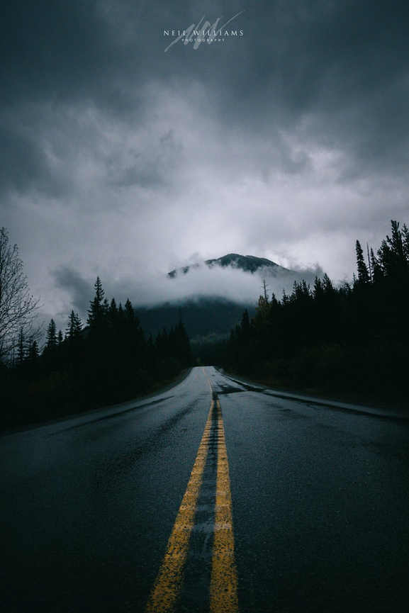 Stormy Icefields Parkway - Canada